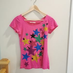 🔥 3 for 25 🔥Pink stars t-shirt